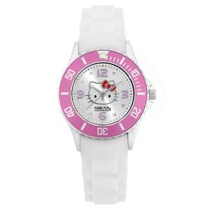 ワケありアウトレット ハローキティ アモンリザ ALHK1209WHPP レディース 腕時計 HelloKitty AMONNLISA Japan limited|euro