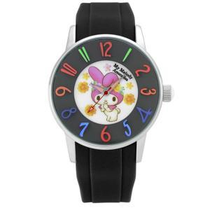 ワケあリアウトレット マイメロディ アモンリザ ALMM1240BKBK 腕時計 レディース My Melody×AMONNLISA マイメロディ 40th アニバーサリー|euro