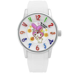 ワケあリアウトレット マイメロディ アモンリザ ALMM1240WHWH 腕時計 レディース My Melody×AMONNLISA マイメロディ 40th アニバーサリー|euro