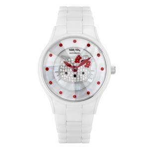 ワケありアウトレット ハローキティ アモンリザ セラミックウォッチ ALHK2015CM レディース 腕時計 HelloKitty×AMONNLISA|euro
