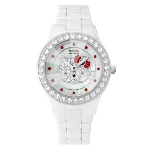 ワケありアウトレット ハローキティ アモンリザ セラミックウォッチ ALHK2015CM-CBS レディース 腕時計 HelloKitty×AMONNLISA|euro