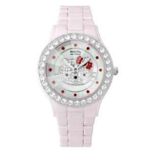 ワケありアウトレット ハローキティ アモンリザ セラミックウォッチ ALHK2015PKCM-CB レディース 腕時計 HelloKitty×AMONNLISA|euro