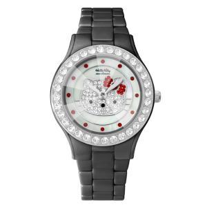 ワケありアウトレット ハローキティ アモンリザ セラミックウォッチ ALHK2015BKCM-CB レディース 腕時計 HelloKitty×AMONNLISA|euro