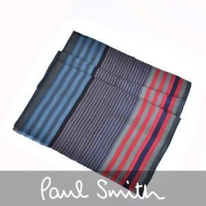 ポール スミス マフラー PAUL SMITH マルチカラー ARXC 929C S529N メンズ...
