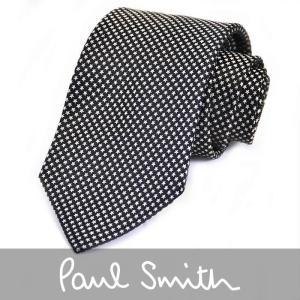PAUL SMITH ポール スミス ネクタイ ブラック 552M X53 B プレゼント  ギフト