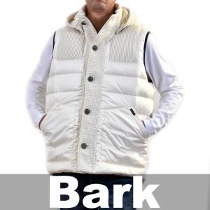 バーク ベスト BARK ホワイト 72B8044 0281 送料無料