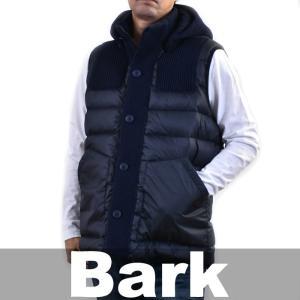 バーク ベスト BARK ブルー 72B8044 0254 送料無料