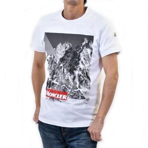 モンクレール Tシャツ カットソー MONCLER E2 091 8048350 8390T 001...