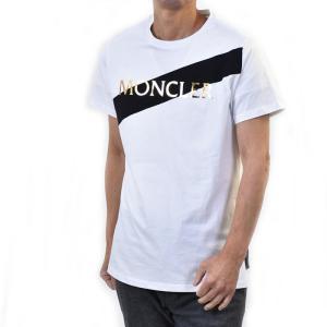 モンクレール 半袖 ロゴTシャツ カットソー MONCLER E2 093 8091250 GIRO...