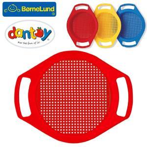 Bornelund ボーネルンド dantoy ダントーイ 砂ふるい 赤 ~ 砂場遊びに大活躍!50年以上の歴史を持つ、デンマークの[Dantoy ダントーイ] の丈夫で安全な玩具です|eurobus