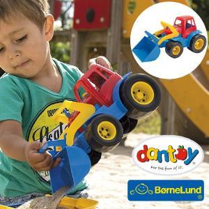 Bornelund ボーネルンド dantoy ダントーイ ブルドーザー ~ 砂場遊びに大活躍!50年以上の歴史を持つ、デンマークの[Dantoy ダントーイ] の丈夫で安全な玩具です|eurobus