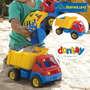 Bornelund ボーネルンド dantoy ダントーイ ダンプカー ~ 砂場遊びに大活躍!50年以上の歴史を持つ、デンマークの[Dantoy ダントーイ] の丈夫で安全な玩具です。|eurobus