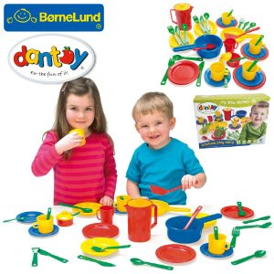 Bornelund ボーネルンド dantoy ダントーイ キッチンプレイタイム おままごとセット ~ 2歳、3歳の男の子、女の子の誕生日プレゼント、クリスマスプレゼントに人|eurobus