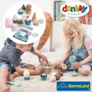 Bornelund ボーネルンド dantoy ダントーイ フロスティデザートセット おままごと ~ 2歳、3歳の男の子、女の子の誕生日プレゼント、クリスマスプレゼントに人気|eurobus