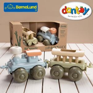 Bornelund ボーネルンド dantoy ダントーイ I'm green お砂場トレインセット ~ 砂場遊びに大活躍!50年以上の歴史を持つ、デンマークのダントーイの丈夫で安全|eurobus