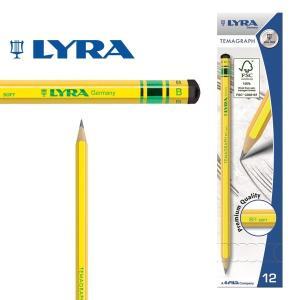 LYRA リラ社 Temagraph テマグラフ 鉛筆B 12本入り