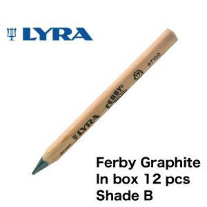 LYRA リラ社 FERBY ファルビー 鉛筆 Bグラファイト 12本入り