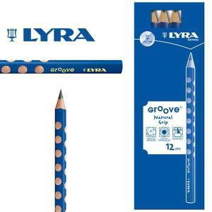 LYRA リラ社 Groove グルーヴ 鉛筆 Bグラファイト 12本入り