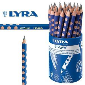 LYRA リラ社 Groove グルーヴ 鉛筆 Bグラファイト 36本 プラスティックケース入り