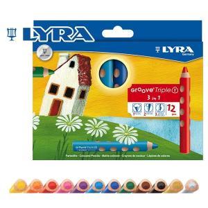 LYRA リラ社 Groove グルーヴトリプルワン 色鉛筆 12色セット