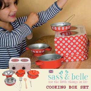 sass and bell サス アンド ベル クッキングボックスセット  レッドデイジー | 3歳、4歳の女の子のお誕生日プレゼント、クリスマスギフトに人気の、食材があれば|eurobus