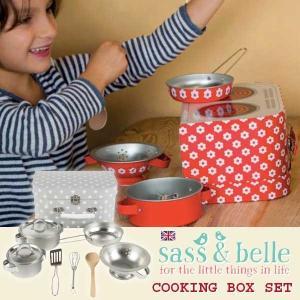 sass and bell サス アンド ベル クッキングボックスセット グレイスター | 3歳、4歳の女の子のお誕生日プレゼント、クリスマスギフトに人気の、食材があればす|eurobus
