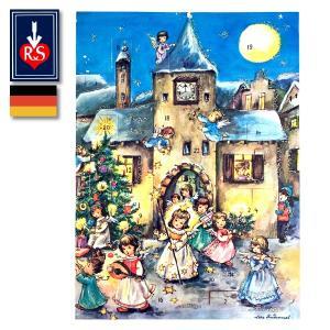 Korsch Verlag社 アドベントカレンダー 天使のパレード ドイツ製 ~ クリスマスまでをカウントダウンしてくれる人気のアドベントカレンダー。|eurobus