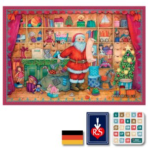 Richard Sellmer Verlag社 アドベントカレンダー プレゼントの準備 ~ クリスマスまでをカウントダウンしてくれるアドベントカレンダー。|eurobus