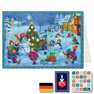 Richard Sellmer Verlag社]アドベントカレンダー みんなのスノーマン ドイツ製 ~ クリスマスまでをカウントダウンしてくれる人気のアドベントカレンダー。|eurobus