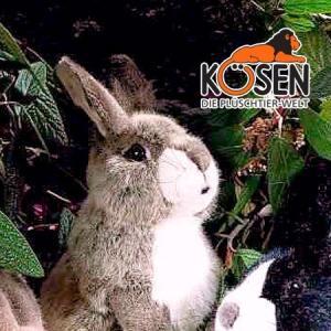 KOESEN ケーセン社 ウサギ 立ち ベージュ 3590|eurobus