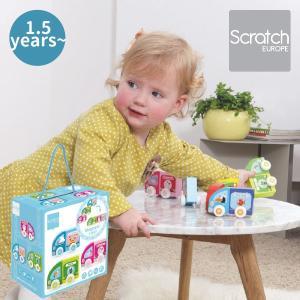 プッシュトイ プッシュトイ マグネティックカー お花・ビューティ・アイスクリーム ~ 出産祝い、ハーフバースディ、1歳、2歳の女の子。|eurobus