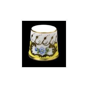 ドレスデン/磁器製 ブルーの花指ぬき【ハンドペイント/V1276】新品現品特価 euroclassics