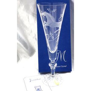 マイセンクリスタル(ドイツ)【ホース シャンパンフルート22.5cm 午年】ギフト包装無料|euroclassics