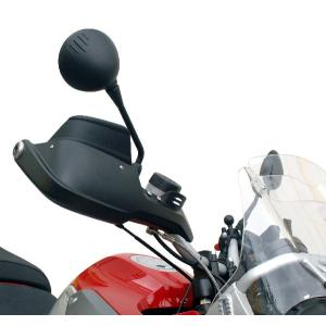 TOURATECH: スポイラー(黒)BMW純正ハンドプロテクター用 R1200GS(-07)/R1150GS/ADV|eurodirect