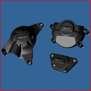 GBRacing: YAMAHA YZF-R6 (2006-2014) 競技車両 エンジンカバーセット | EC-R6-2008-SET-K-GBR|eurodirect