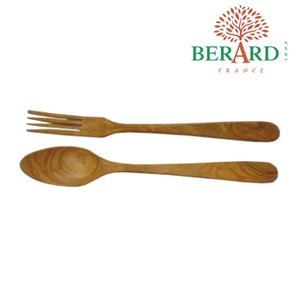 ベラール BERARD オリーブの木 サラダサーバーセット大 #02775(V) eurokitchen