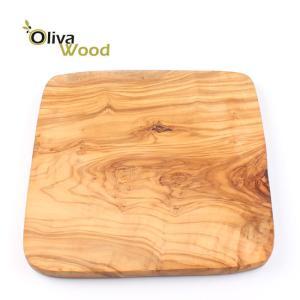 オリーバウッド OlivaWood(オリーブウッド)オリーブの木 まな板 一枚板カッティングボード正方形 スタンダー 20×20×1 #SQ2020S eurokitchen