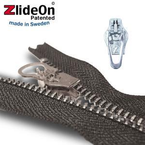 ズライドオン ZlideOn 3B-2 シルバー 角プルタブ  ファスナー・ジッパー・チャックの簡単修理ツール  動画|eurokitchen