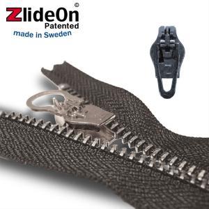 ズライドオン ZlideOn 4C-2 ブラック 角プルタブ  ファスナー・ジッパー・チャックの簡単修理ツール  動画|eurokitchen