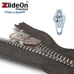 ズライドオン ZlideOn 4C-2 シルバー 角プルタブ  ファスナー・ジッパー・チャックの簡単修理ツール  動画|eurokitchen