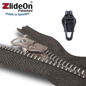 ズライドオン ZlideOn 4C2-2 ブラック 角プルタブ  ファスナー・ジッパー・チャックの簡単修理ツール  動画|eurokitchen