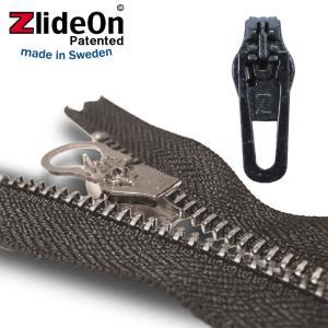 ズライドオン ZlideOn 45C-2 ブラック 角プルタブ  ファスナー・ジッパー・チャックの簡単修理ツール  動画|eurokitchen