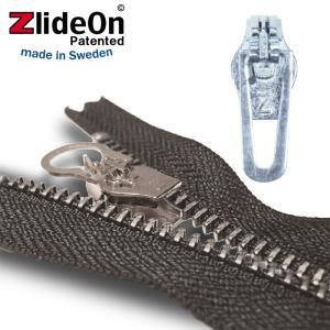 ズライドオン ZlideOn 5B-2 シルバー 角プルタブ  ファスナー・ジッパー・チャックの簡単修理ツール  動画|eurokitchen