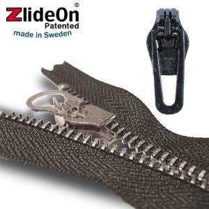 ズライドオン ZlideOn 5C-2 ブラック 角プルタブ  ファスナー・ジッパー・チャックの簡単修理ツール  動画|eurokitchen