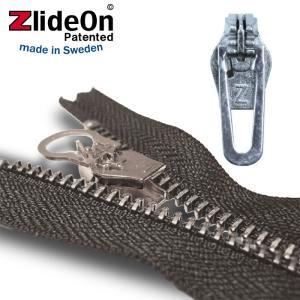 ズライドオン ZlideOn 5C2-2 シルバー 角プルタブ  ファスナー・ジッパー・チャックの簡単修理ツール  動画|eurokitchen