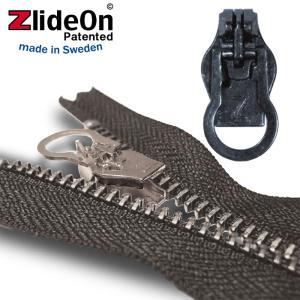 ズライドオン ZlideOn 8A-1 ブラック 丸プルタブ  ファスナー・ジッパー・チャックの簡単修理ツール  動画|eurokitchen