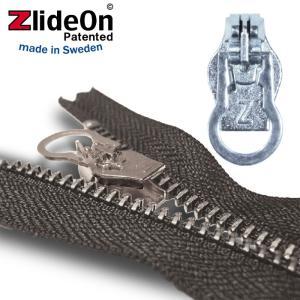 ズライドオン ZlideOn 8A-1 シルバー 丸プルタブ  ファスナー・ジッパー・チャックの簡単修理ツール  動画|eurokitchen