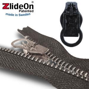 ズライドオン ZlideOn 8C-1 ブラック 丸プルタブ  ファスナー・ジッパー・チャックの簡単修理ツール  動画|eurokitchen
