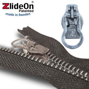 ズライドオン ZlideOn 8C-1 シルバー 丸プルタブ  ファスナー・ジッパー・チャックの簡単修理ツール  動画|eurokitchen