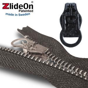 ズライドオン ZlideOn 8B-1 ブラック 丸プルタブ  ファスナー・ジッパー・チャックの簡単修理ツール  動画|eurokitchen